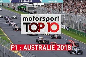 Formule 1 Contenu spécial Vidéo - Le top 10 du Grand Prix d'Australie