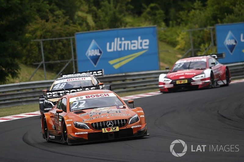 DTM Hungaroring: Auer op pole, Mercedes domineert