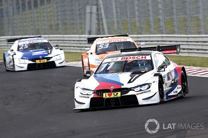Hungaroring DTM: Wittmann wins after pitlane drama