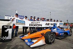 IndyCar Detroit race 1: Dixon bendung trio Andretti