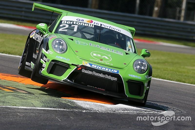 Carrera Cup Italia, Monza: Bertonelli in trionfo nel patatrac di gara 1!