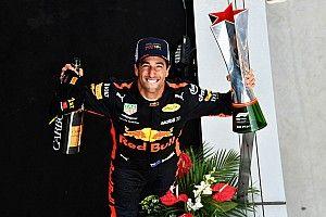 Риккардо поблагодарил Red Bull за свою карьеру