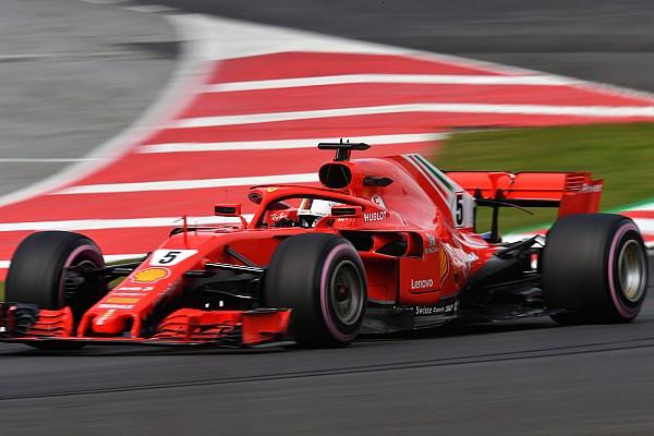 F1 第二轮季前测试第三日:维特尔最快圈不可撼动,迈凯伦里程数破百