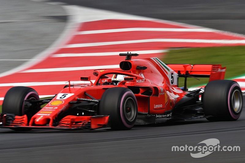 第二轮季前测试第三日:维特尔最快圈不可撼动,迈凯伦里程数破百