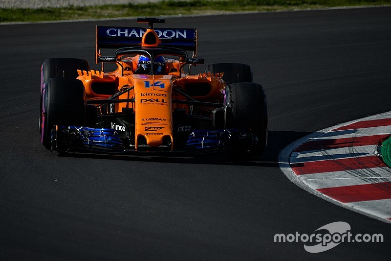 "Alonso a ""different"" driver in 2018 – McLaren"