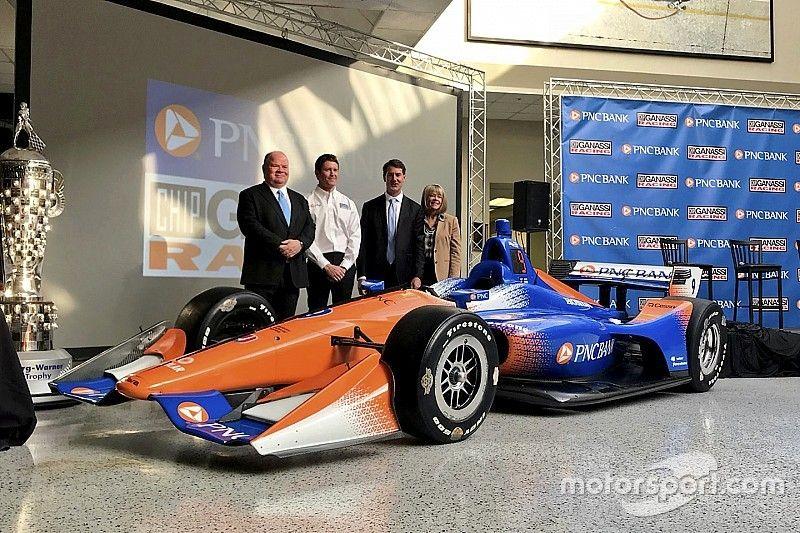 Ganassi apresenta carro de Dixon para 2018
