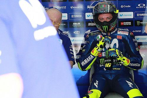 """La reprise ? """"Un désastre physiquement"""" pour les pilotes selon Rossi"""