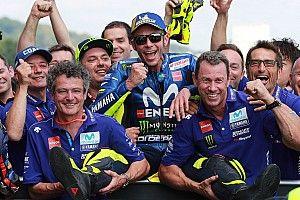 Masalah akselerasi belum tuntas, teknisi Yamaha hindari Rossi