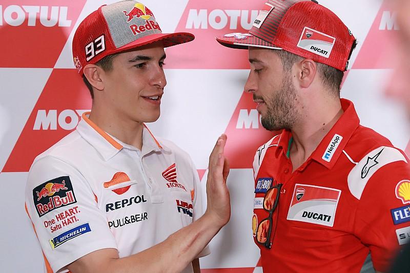 Kegagalan finis Marquez buka peluang juara Dovizioso