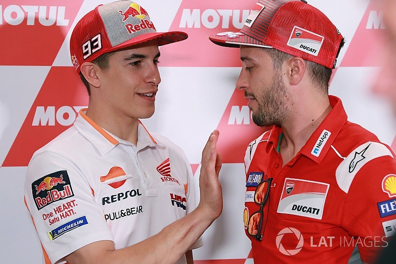 Marquez tak keberatan setim dengan Dovizioso