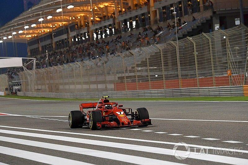 Raikkonen ontsnapt aan gridstraf in Bahrein