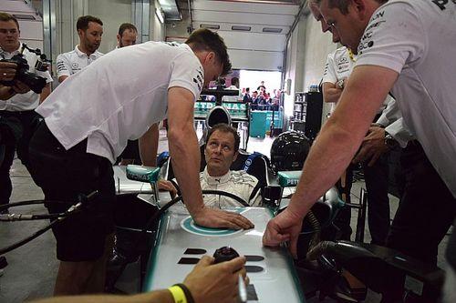 Aldo Costa: una giornata da pilota a Imola per il progettista Mercedes