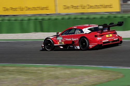 DTM Hockenheim: Rast start jacht op titel met snelste tijd in VT1