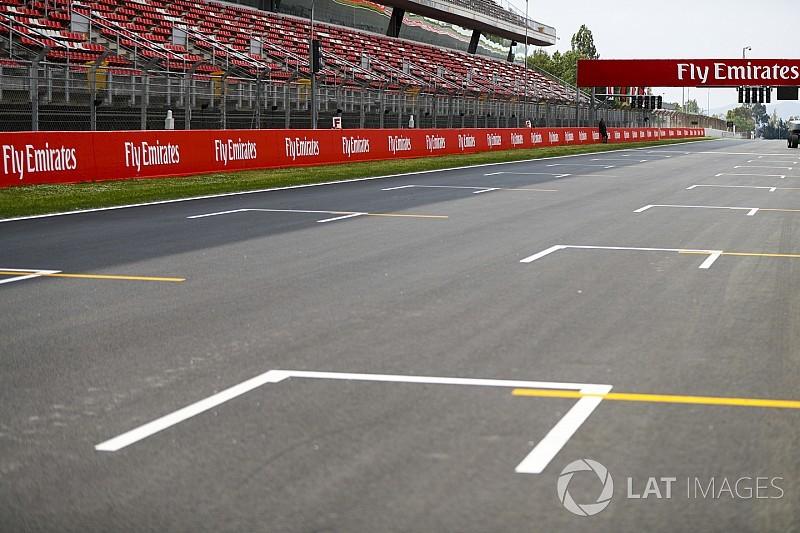 Képeken az újraaszfaltozott barcelonai F1-es pálya