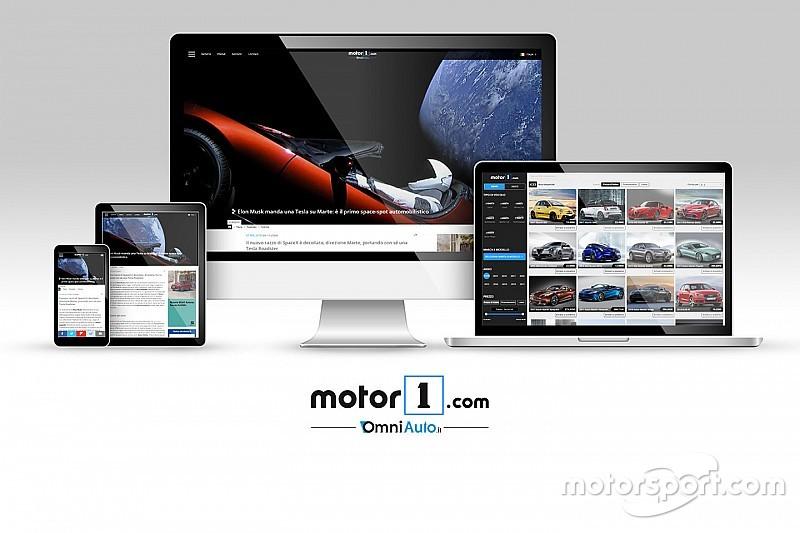Motor1.com запустил итальянскую версию