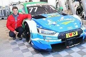 DTMデモランを満喫したデュバル「引退前にまた日本でレースがしたい」