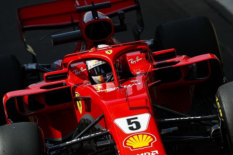 Феттель стал быстрейшим во второй тренировке, Ферстаппен разбил машину