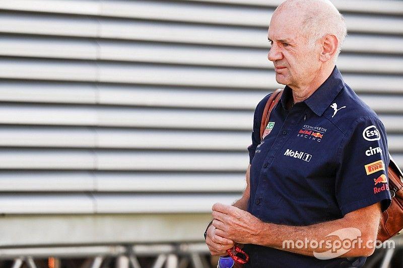 """Red Bull avisa: Newey vuelve a estar """"muy motivado"""""""