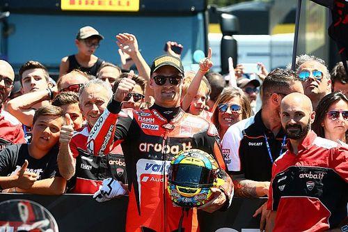 Ducati, podio d'orgoglio a Misano