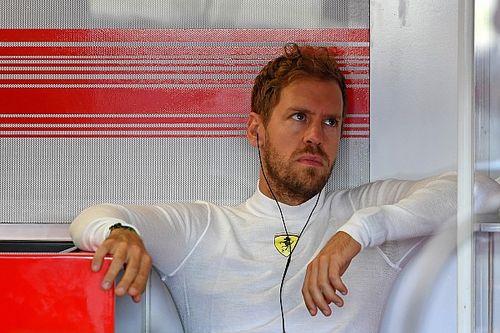 Vettel, boyun ağrısı yüzünden sıralama turlarını kaçırmaktan korkmuş