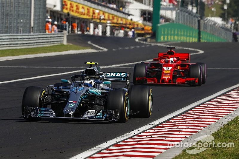 Vettel surpris par l'accrochage avec Bottas