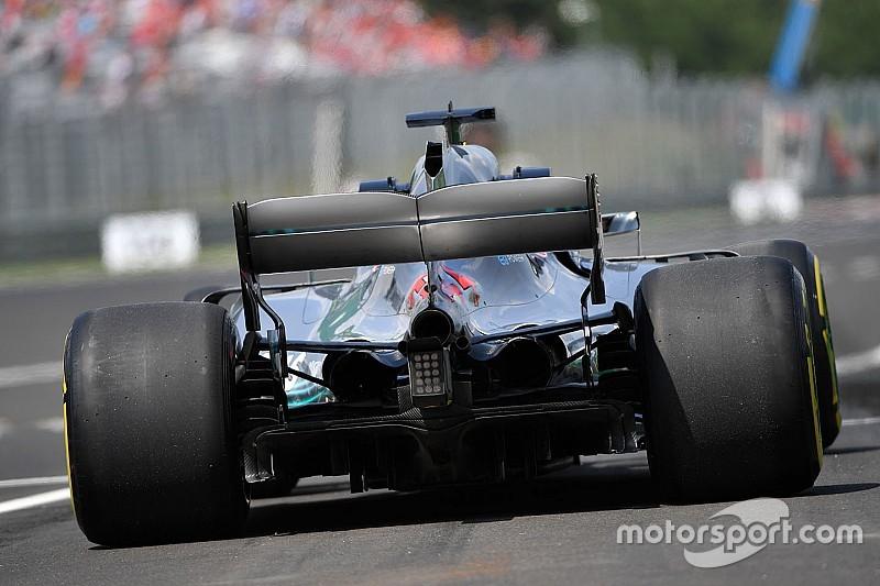 Les pneus arrière font souffrir Mercedes en Hongrie