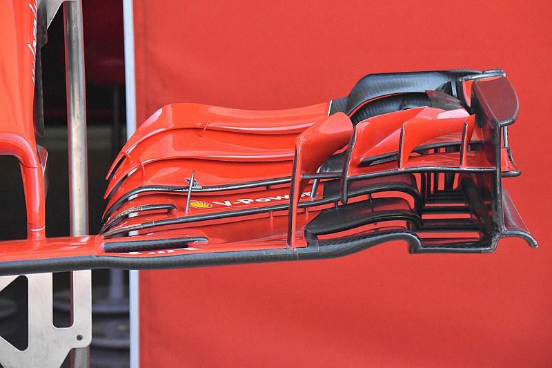 A Ferrari új első szárnnyal készül a Hungaroringre