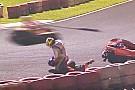 Kart Vidéo - Un équipier de Massa en kart tente d'étrangler un concurrent