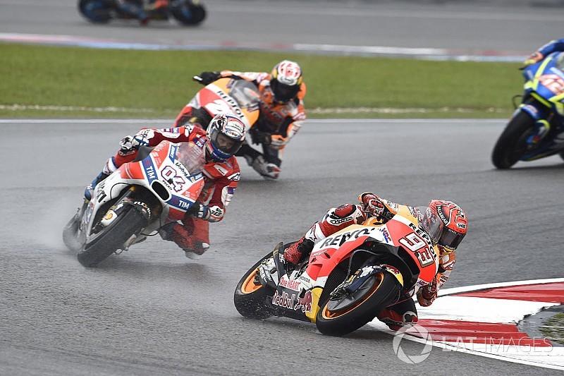 """Sicherheit statt Risiko: Marquez """"wollte Platz vier absichern"""""""