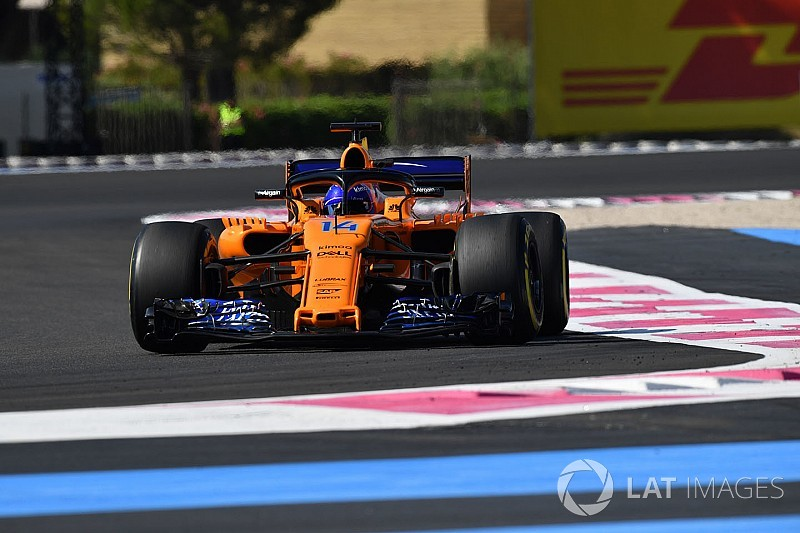 "Alonso: Radio apathy prompted by ""overexcited"" McLaren"