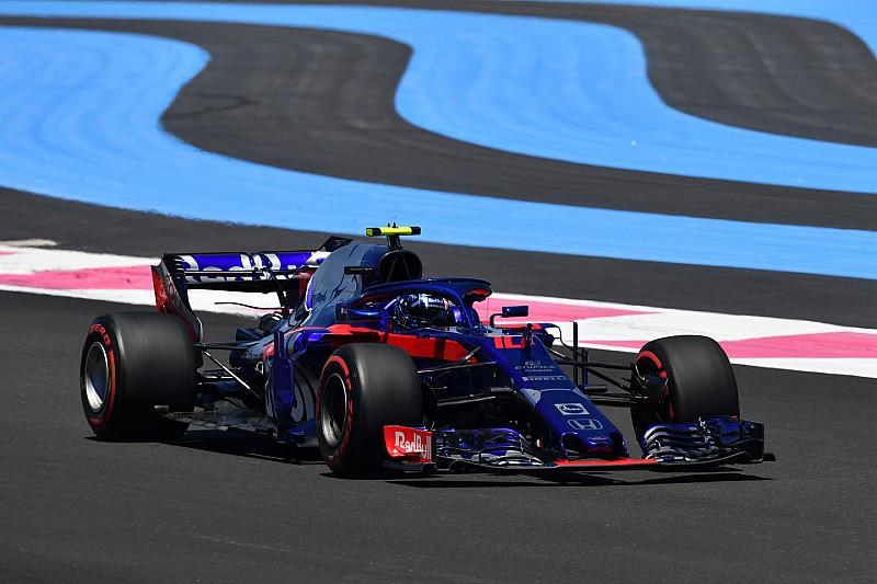 フランスFP2速報:ハミルトン連続トップ。ガスリー10番手