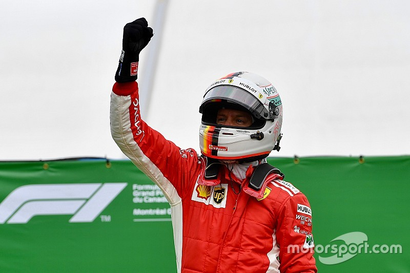Canadian GP: Vettel scores 50th F1 win