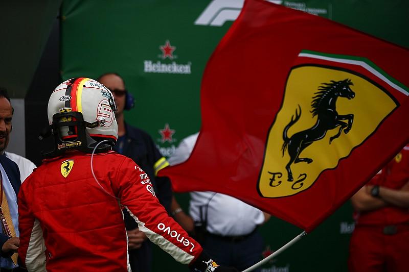 Foto galeri: Ferrari ve Vettel'in Kanada GP zaferi sevinci