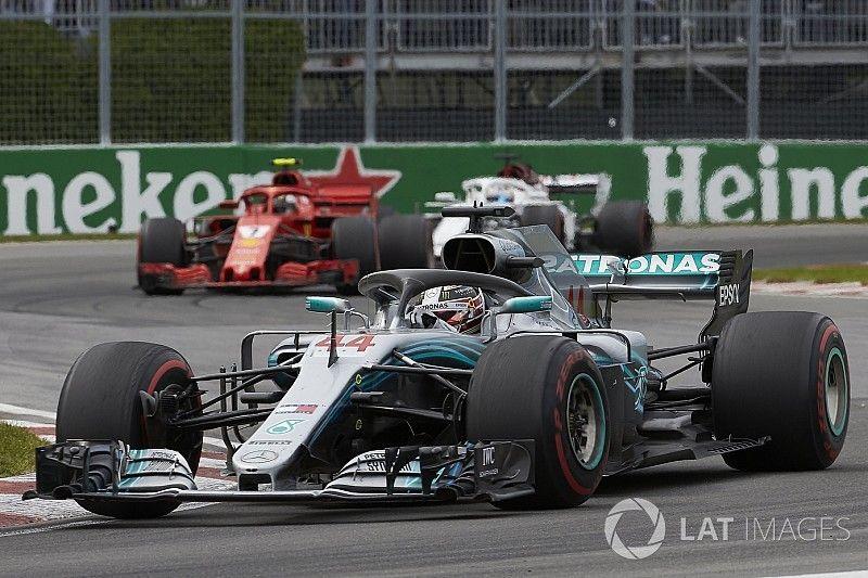 Mercedes dice que usó sus motores al máximo en Canadá