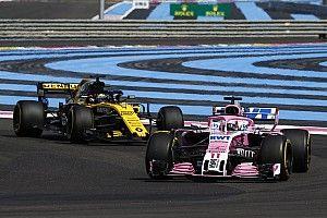 """Pérez no cree que sea """"irreal"""" vencer a Renault este año"""