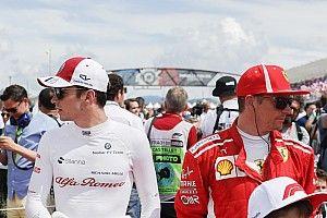 """Räikkönen Leclerc teljesítményéről: """"Nem az én dolgom"""""""