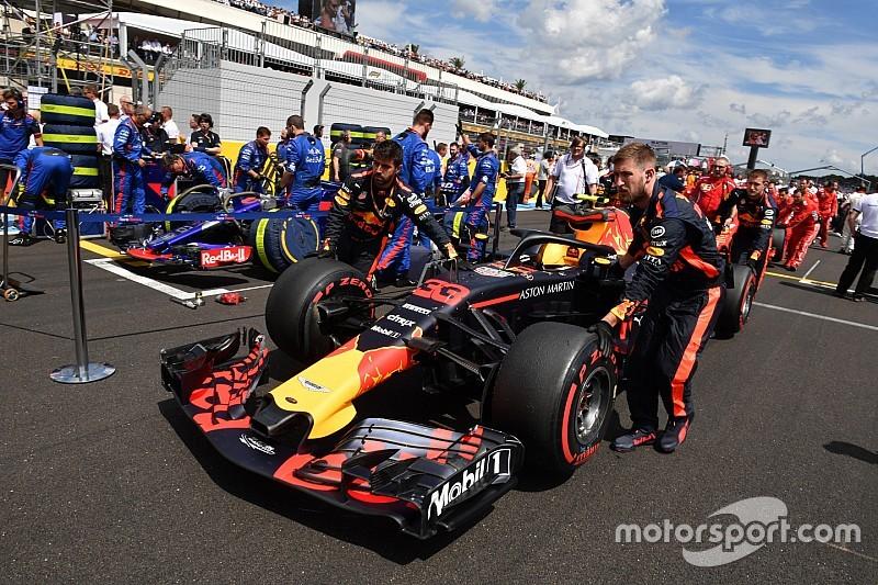 Red Bull Racing zinspeelt op geplande gridstraffen in Monza
