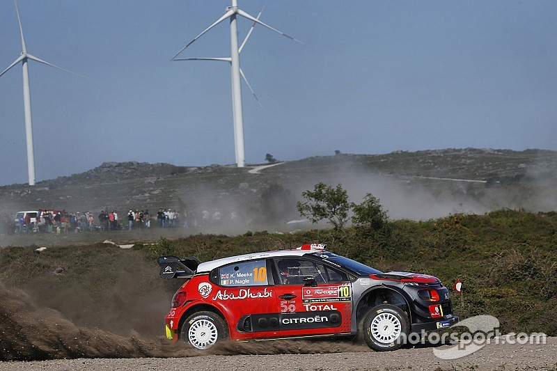 Meeke hospitalised after Rally Portugal crash