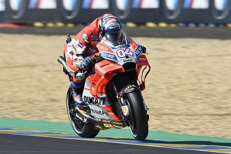 Довіціозо не втратив надії боротися за титул MotoGP