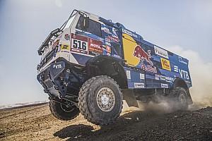 Dakar, Camion, Tappa 10: Shibalov prima dello stop