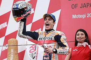 Motegi MotoGP: Marquez sees off Quartararo threat
