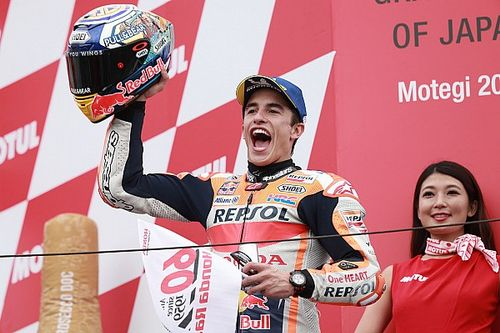 Motegi MotoGP: Marquez sees off Quartararo threat