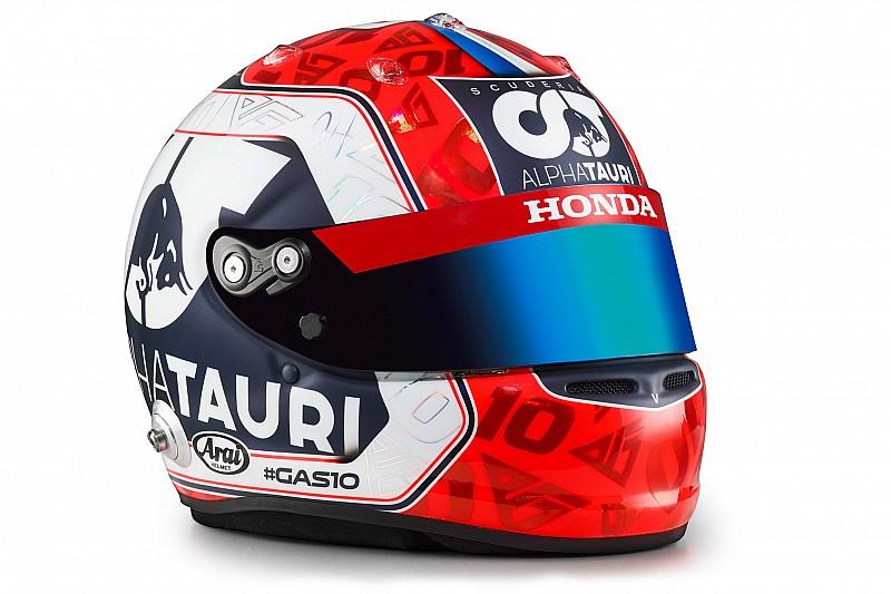 Gasly és Kvjat új F1-es sisakja az AlphaTaurinál