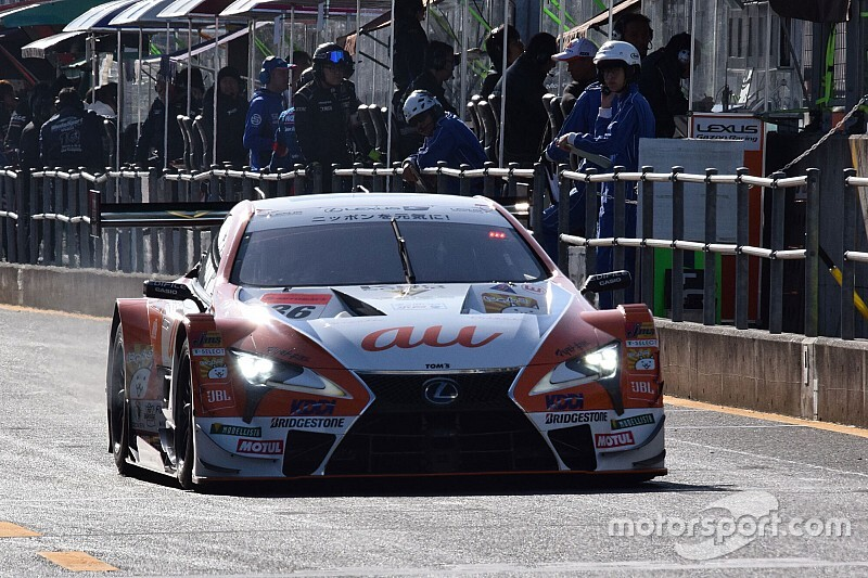 Motegi Super GT: Lexus locks out front row for decider