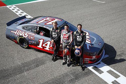 Galeri: Haas pilotlarının NASCAR aracıyla yaptığı sürüş