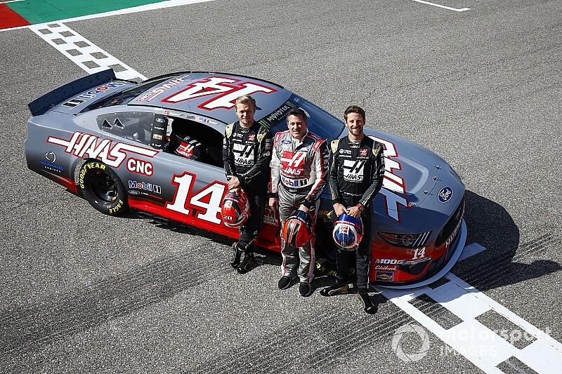 GALERÍA: Un NASCAR en la F1