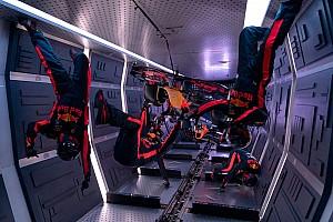Uniek: Red Bull voert pitstop uit in zero-g