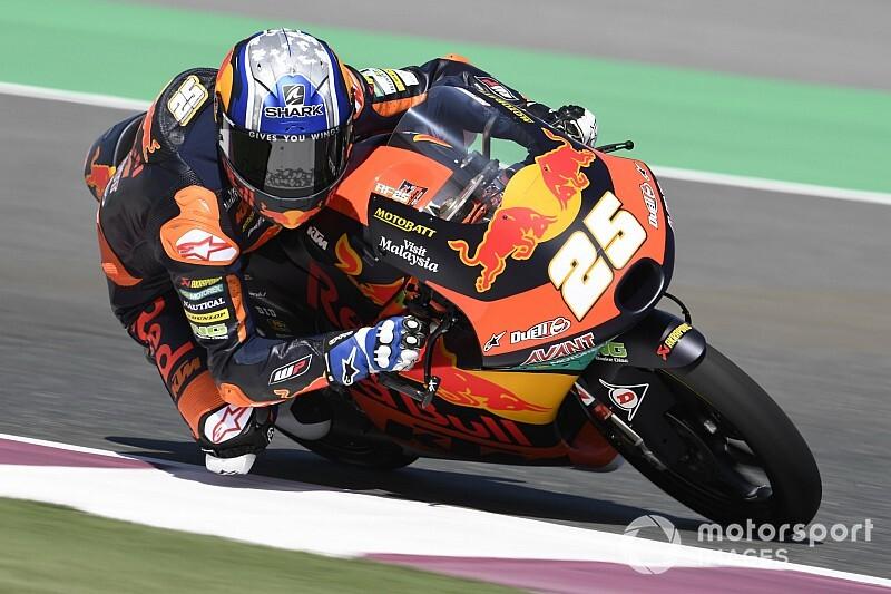 Moto3, Losail, Libere 3: Fernandez continua a dominare