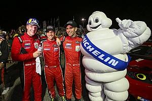 Ferrari in trionfo alla Petit Le Mans con Calado, Pier Guidi e Serra