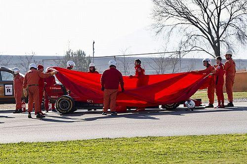 Ferrari explica el problema del motor de Vettel